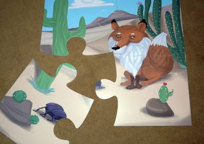 Puzzle Fundación vida silvestre