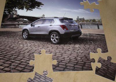 Puzzle camioneta