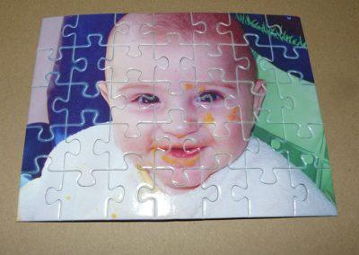 Puzzle sublimado de cartón