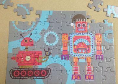 Puzzle troquelado infantil