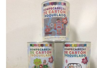 Packagings de puzzles troquelados