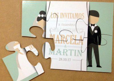 Puzzle invitacion