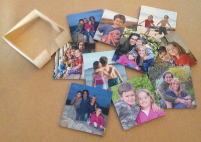 Posavasos de madera con fotos!